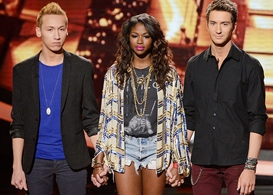 american idol, top 9 elimination results