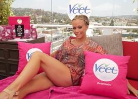 kendra wilkinson and veet kick off summer at drais