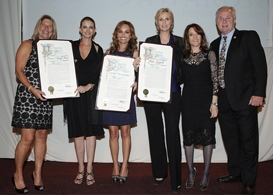 project angel food honors jane lynch and giada de laurentis
