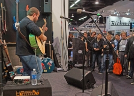 namm 2013 takes over the anaheim convention center