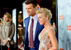 safe haven opens valentine's day with josh duhamel and julianne hough: video with onscreen kids mimi kirkland & noah lomax plus review