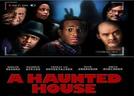 a haunted house, scarily bad