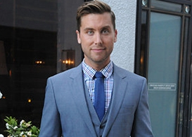 west coast liberty awards hosted by lance bass