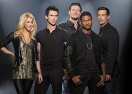 the voice season 4 premiere: usher, shakira & the judges steal