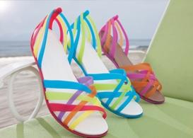 award season spa day at the domain showroom, crocs shoes 2013 spring line