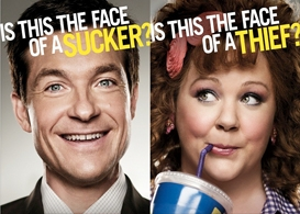 identity thief movie review: jason bateman and melissa mccarthy road trip across state lines