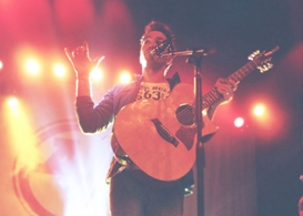 andy grammar and parachute at the donna theatre