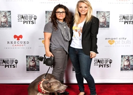 cuoco and corry stand up for pits