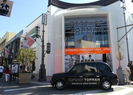 topshop topman: british fashion to the grove