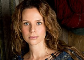 jessalyn gilsig q & a: making history with vikings and somewhere slow