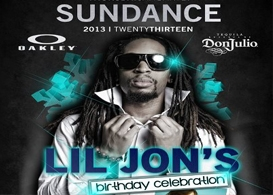 sundance film festival kicks off in park city utah with lil' jon's birthday