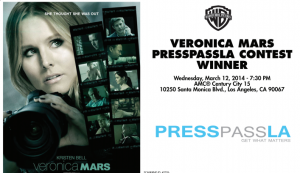 VeronicaMarsTickets