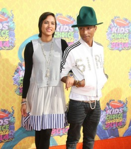 Nickelodeon Kids' Choice Awards 2014 Pharrell