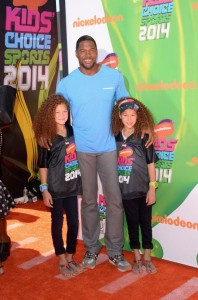 Nickelodeon Kids' Choice Sports Awards 2014 - Michael Strahan