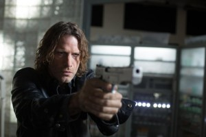 Thomas Jane as a rogue cop in Vice.