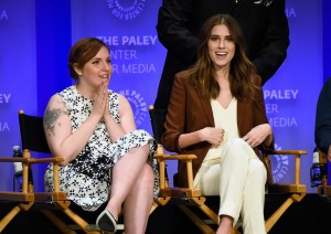 LenaDunhan_AllisonWilliams_HBOGirls_PaleyFest