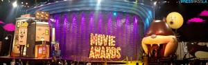 The set of the 2015 MTV Movie Awards.