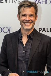 Timothy Olyphant at the Paley Center's Justified event.