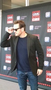 Matt Dillon walks the C2E2 red carpet.
