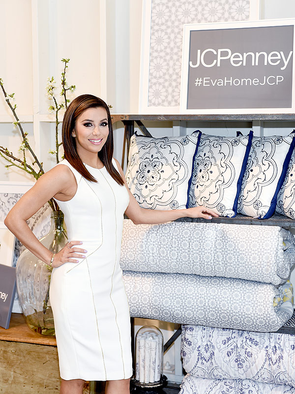 Eva Longoria Debuts Home Collection For Jcpenney