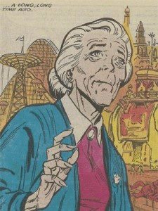 The original Aunt May from the comics.