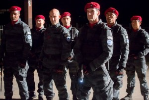 Dangerous guards from USA's new drama, Colony.