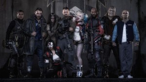 The Suicide Squad ready for action.
