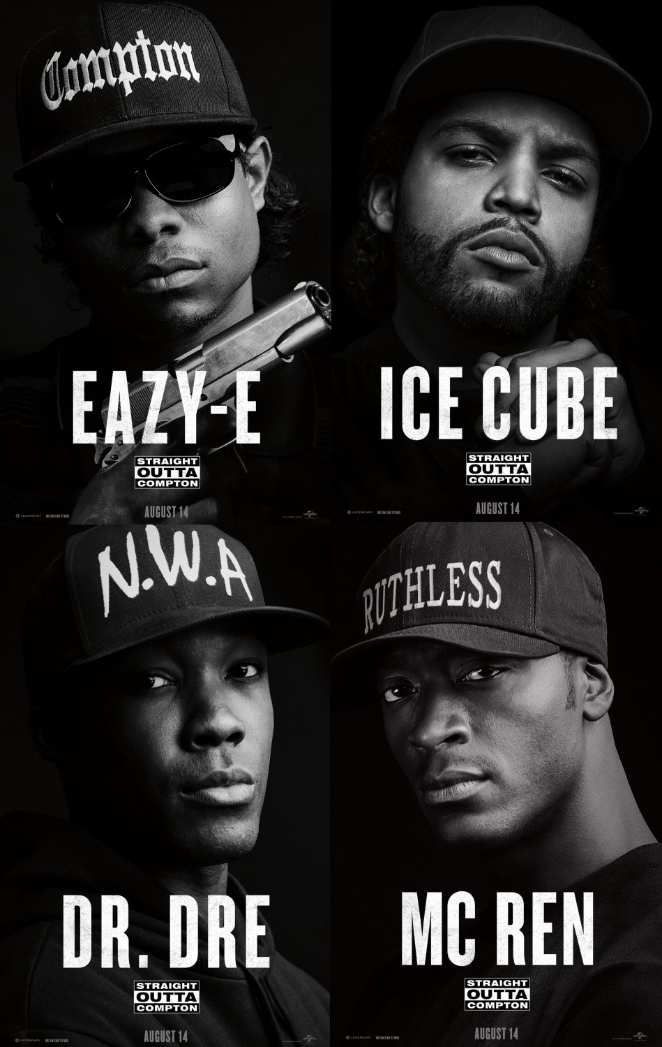 Ice Cube Cover Photo Minimalist straight outta compton one of the summer's best: review