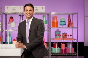 Host Jonathan Bennet of Food Network's Cake Wars