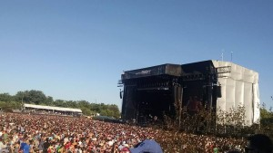 Millions gathered in Chicago for Lollapalooza 2015.