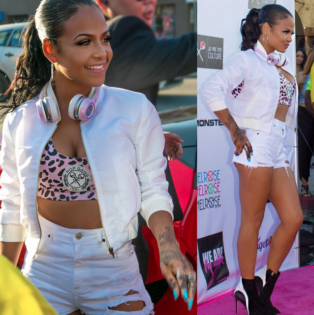 Christina Milian Unveils New Clothing Line 39 We Are Pop