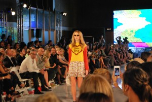 The Emma Mulholland show was a huge hit during LAFW.