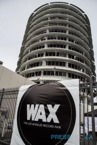 Wax at Capital Records