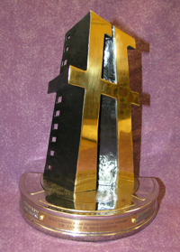 The coveted Hollywood Film Festival award.