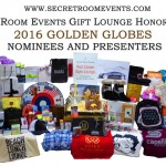 SECRET ROOM EVENTS: GOLDEN GLOBE AWARDS STYLE LOUNGE