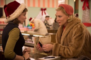 Cate Blanchett in Carol is aiming for the top spot in this year's awards as it continues to pick up nominations.