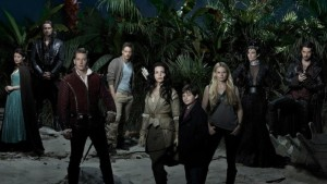 The cast of Once Upon A Time has a reason to celebrate as its 100th episode airs.