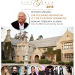 2016 CITY GALA, GRAMMY NIGHT AT THE PLAYBOY MANSION: SIR RICHARD BRANSON, DIDDY & MORE!