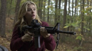 Chloë Grace Moretz stumbles through an uneven movie.