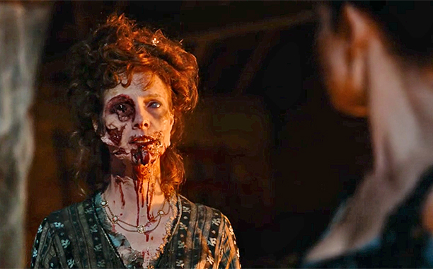 Pride and Prejudice and Zombies is most at home when it embraces the campier side of the genre.