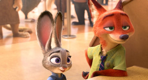 Ginnifer Goodwin and Jason Bateman lend their voices to the imaginative Zootopia.