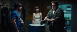 John Gallagher Jr., Mary Elizabeth Winsted and John Goodman bring powerful performances to 10 Cloverfield Lane.