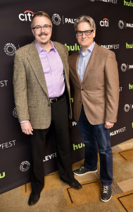 VinceGilligan_PeterGould_BetterCallSaull_PaleyFest