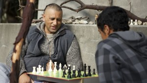 Cliff Curtis' performance leaves much to be desired in The Dark Horse.