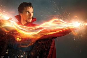 Benedict Cumberbatch is the Sorcerer Supreme in this winter's Doctor Strange.
