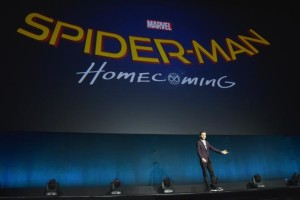 The new Spidey himself Tom Holland introduced the name of the next Spiderman film at CInemacon.