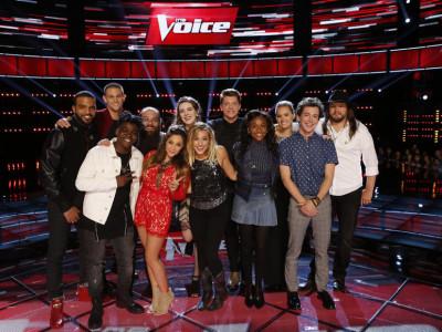 The Voice Season 10, Top 12 Finalists
