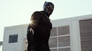 Chadwick Boseman dominates as The Black Panther.
