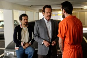 Bryan Cranston and John Leguizamo follow the Medellin drug money.