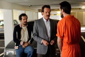 Bryan Cranston and John Leguizamo follow the Medellin drug money.